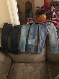 Gap jeans size 3yrs 6 pairs great condition  New York, 10031