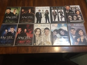 Angel (Buffy the Vampire Slayer spin off) & Bones ($20 for everything)