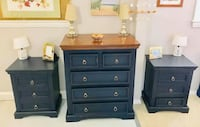 Nautical blue solid wood dresser (matching nightstands available) Kensington, 20895