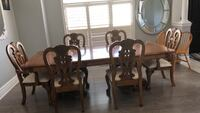 brown wooden dining table set Vaughan, L4H