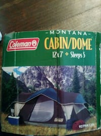 Coleman Montana Cabin/Dome Tent Springfield, 65807