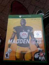 Madden NFL 19 Xbox One game case and dics Salem, 08079
