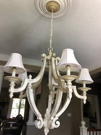 Country Style Chandelier, excellent condition