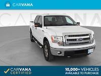 2013 Ford F150 SuperCrew Cab pickup XLT Pickup 4D 5 1/2 ft White Petersburg