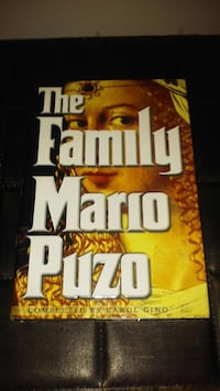 The Family by Mario Puzo 1st Edition 1st Printing Chicago, 60637
