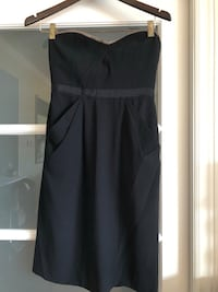 Black vintage BCBG cocktail dress Montréal, H4A