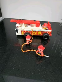 1968 Fisher Price fire engine
