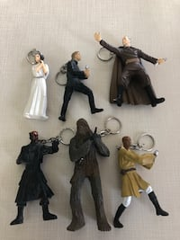STAR WARS KEYCHAIN COLLECTION SET.  NEW! Toronto, M1S 2B2