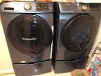 2016 Samsung Washer & Dryer with Bases Ashburn, 20147