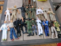 GI Joes with weapons Old Bridge Township
