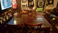 brown wooden dining table set Mississauga, L5N 3A4