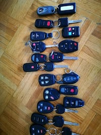 All kinds of car key