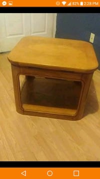 brown wooden framed table Bloomington, 61701