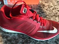 Mens Nike Zoom Speed TR3 Red Size 10 Vaughan, L4K 1X4