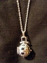 Hand Made Oil Diffuser Necklace  Woodstock