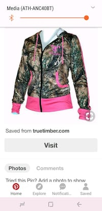 Brand New True Timber Camo pullover Jacket