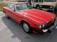Mercedes - 560SL - 1987 Rockville, 20850