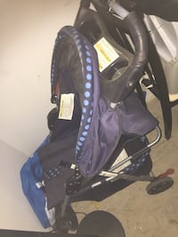 baby's black and blue car seat carrier Calgary, T1Y 2A6