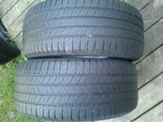 """2 USED MICHELIN 17"""" TIRES"""