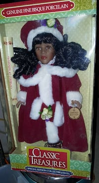 Classic Treasures special edition collectible doll Henderson, 89044