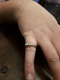 18 k gold ring size 7