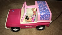 Pink and purple Tonka Jeep for Barbie  Alexandria, 22304