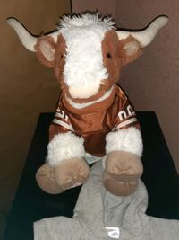 Build a Bear Longhorn