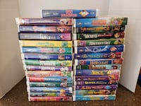 29 Disney VHS movies Manassas, 20112