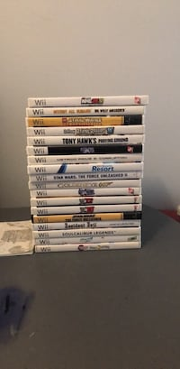 Nintendo Wii games collection Toronto, M8V 3J3