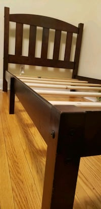 Twin/single bed frame.