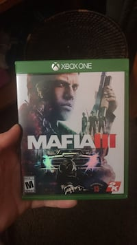 Xbox one mafia 3 game case Altamont, 12009