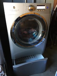 Electrolux washer and dryer with storage $250 Union