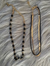 Two chokers/ necklace