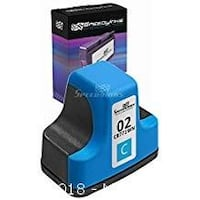 LASER TEK SERVICES® COMPATIBLE HP 02 INK CARTRIDGE REPLACEMENT FOR THE HP C8771WN (CYAN, 20-PACK) 8275 km