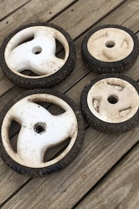 Wheels for toro mower