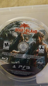 Dead Island PS3 game CD