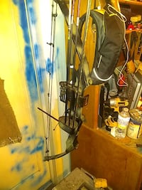 black and gray compound bow Price, 84501