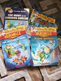 Asorted Geronimo Stilton books Mississauga, L4W 4A1