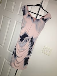 Off Shoulder Dress from  Le Chateau Toronto, M1T 1W3