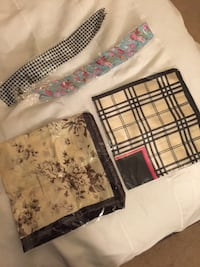 Silk scarfs and headbands $5 for all Fairfax, 22032