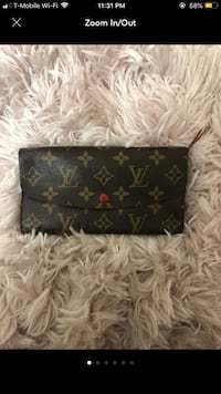 black and brown Louis Vuitton monogram wallet Alexandria, 22304