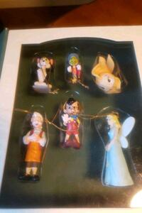 Disney Pinocchio ornaments