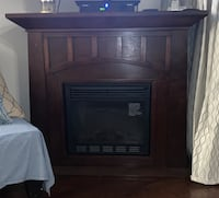 Mantel with electric heater New York, 10465