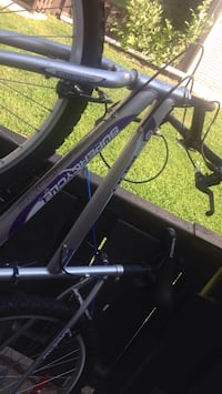 Supercycle bike silver and purple.  No use for it. Best offer please call  [TL_HIDDEN]  St Catharines, L2S