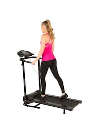 Tre2500 Folding Electric Treadmill with Goal Setting Computer   Mississauga, L5W 1L8