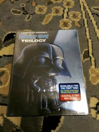 Brand new (sealed) Family Guy Star Wars Trilogy pack (Blu-ray)