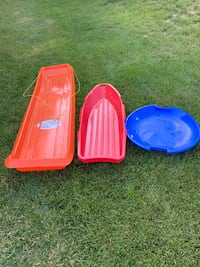 Sleds all three $5.00 Perryville, 21903
