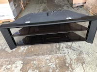 tv stand with glass shelves  Altamonte Springs