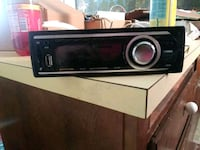 black Pioneer 1-DIN car stereo head unit Sacramento, 95828