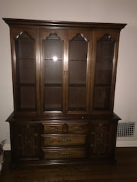 brown wooden china buffet hutch Pasadena, 91107